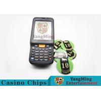 Casino Poker Chips / Checker ID Chips Detector Handel Terminal Detection Equipment Manufactures