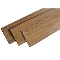 China Indoor PVC Laminate Look Vinyl Flooring , Laminate Effect Vinyl Floor Tiles Wood Texture on sale