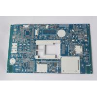 Custom PCB boards manufacturer PCB Assembly Prototype Blue soldmask white silkscreen Manufactures