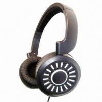 Wired Stereo Headset with 40mm Speaker, 1,000mV Power Capability, Suitable for PC and DVD Players Manufactures