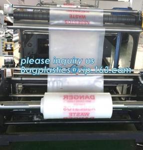 Wholesale Durable Jumbo Disposal Asbestos Waste Plastic Bags, industrial biodegrade dedicated asbestos garbage bags of y Manufactures