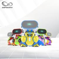 Attractive Colorful Funny VR Game Children VR Simulator / 9D Virtual Reality Machine Manufactures