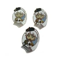 China Hard Enamel Craft Collectible Lapel Pins Brush Finish Eco - Friend Material on sale