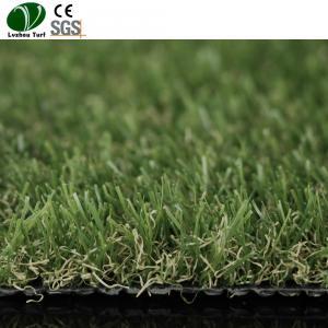 Fibrillated Polypropylene Artificial Grass Mat For Home Garden Yarn Fake Manufactures
