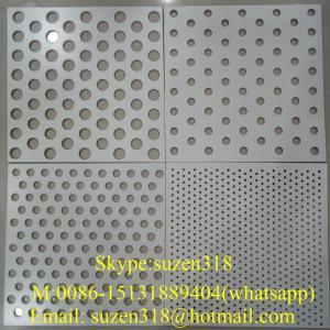 China aluminium perforated facade panel  / aluminum perforated ceiling panel on sale