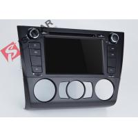 Bluetooth 3G USB BMW DVD GPS Navigation In Dash Cd Dvd Player 256Mb RAM Manufactures