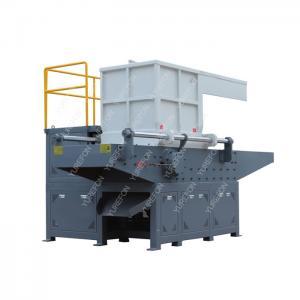 Low Power Consumption PET HDPE Plastic Bottle Shredder Machine With Single Shaft Manufactures