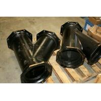 "High Hardness Mechanical Joint Fittings Ductile Iron Casting 10"" Lateral Y C153 Manufactures"