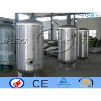 Milk Stainless Steel Pressure Vessel Storage For  Bioligy Health Tank Manufactures