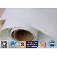 E-glass Polyurethane Silicone Coated Glass Cloth Heat Resistant Double Sides Manufactures