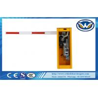 Buy cheap 1.5 Sec 24V DC Motor Vehicle Access Barriers 1850rpm No - Load Speed IP44 from wholesalers