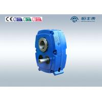 China Helical Straight Bevel Gear Reducer , Gear Reduction Box Speed Reducer on sale