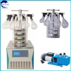 China BL-10D Manifold top press Laboratory vacuum Freeze Dryer Lyophilizer ,small mini freeze drying machine on sale