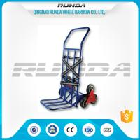 Foldable Toe Plate Convertible Dolly Cart28x1.0mm Tube Thickness Six Tyers Manufactures