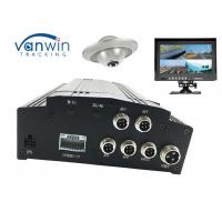 4CH HDD GPS Basic black box car digital video recorder , Vehicle Mobile DVR SD card Manufactures