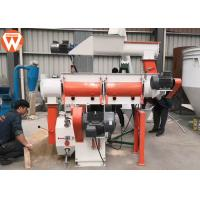 China Customized Voltage Pellet Making Machine / Poultry Feed Pellet Mill Machine on sale