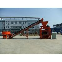 Block Machine with Pan Mixer (QTJ4-40) Manufactures