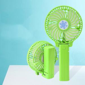 China USB Mini Handheld Fan Foldable Portable Desk Desktop Cooling Fan rechargeable on sale