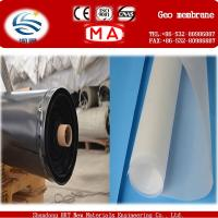China hdpe geomembrane for fish farm on sale