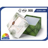 Delicate Printing Design Lid / Base Paper Cardboard Gift Box Rigid Spot UV Surface Manufactures