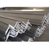 Pickled Surface 316 316L Metal Angle Bar , 6m 5.8m Structural Steel Angle Bar Manufactures