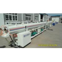 China Electrical Water Plastic Pipe Extrusion Line For Agricultural Manual on sale