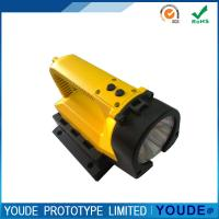 China Custom Rapid CNC Machining Plastic  Shell Yellow and Black for Electric Torch on sale