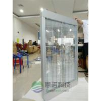 China Indoor / Outdoor Advertising Transparent LED Display Screen , Clear LED Display on sale