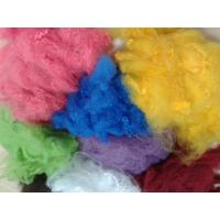 Solid Recycled Polyester Staple Fiber , High Tenacity Siliconized Polyester Fibre Manufactures