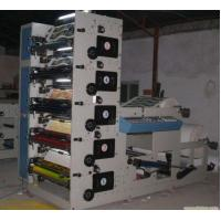 Max Width 850mm Paper Label Printing Machine , Automatic High Speed Flexographic Printing Machine Manufactures