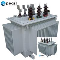 High Efficiency Oil Immersed Transformer 11 kV - 3500 kVA Low Loss Low Noise Manufactures