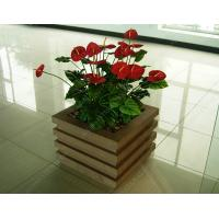 wood plastic outdoor planter OLDA-7001 520mm*520mm*526mm Manufactures