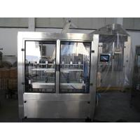 China PET Bottle Cooking Oil Filling Machine , Electric Liquid Filling Production Line on sale