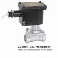China Stainless Steel Flameproof Explosion Proof Solenoid Valve With Steam Medium on sale