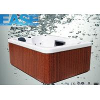 220V / 16A acrylic shell whirlpool massage outdoor portable spas hot tubs for 3-4 adults Manufactures