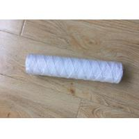 10 Inch 5 Micron PP Yarn String Wound Water Filter Cartridge for Water Purifier Manufactures