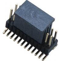 Fireproof 1.27mm * 2.54 Mm Pitch Header / PCB Board Male Pin Headers Manufactures