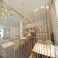 China Sparkled Gold Metal Ball Chain, metal bead curtain on sale