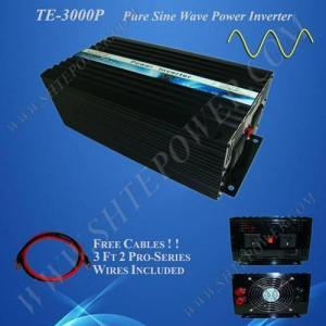 DC 24V to AC 220V 3000W Pure Sine Wave Power Inverter Manufactures