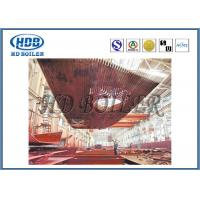 High Thermal Efficiency Water Wall Panels Heat Exchanger For CFB Boiler Water Cooling Manufactures