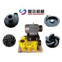 Mineral Process Coal Washing Mining Slurry Pump Motor / Diesel Engine Fuel Manufactures
