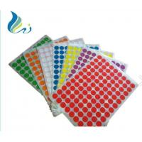 Quality OEM Colorful Self Adhesive Laser Printer Paper Die Cut Personal Decoration for sale