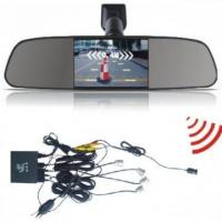 Wireless Rearview Mirror Parking Sensor System With Camera Manufactures