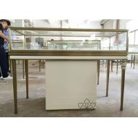 Custom Logo Jewelry Retail Display Fixtures Stainless Steel Strong Frame Manufactures