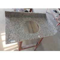 China White Granite Prefab Vanity Tops Single Basin Hole With 2670 Kg / M³ Density on sale