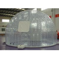 China Outdoor Event advertising inflatable bubble tent with transparent color or customized on sale