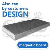 China High Performance Stainless Steel Magnetic Board For Electromagnetic Separator on sale