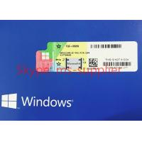 OEM Package Windows 7 Pro Pack 1 DVD & Key Code COA License , Windows 7 Software Manufactures