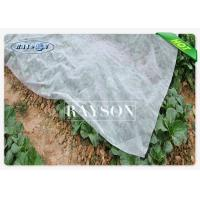 China 17gsm with UV Stabilization Non Woven Heavy Duty Landscape Fabric for Plants Covers wholesale