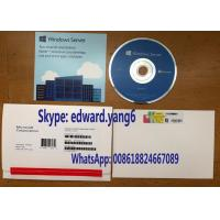 China For W / Win / Windows Server 2016 R2 Standard OEM Software Coa Key Sticker License DVD Sealed Packing on sale